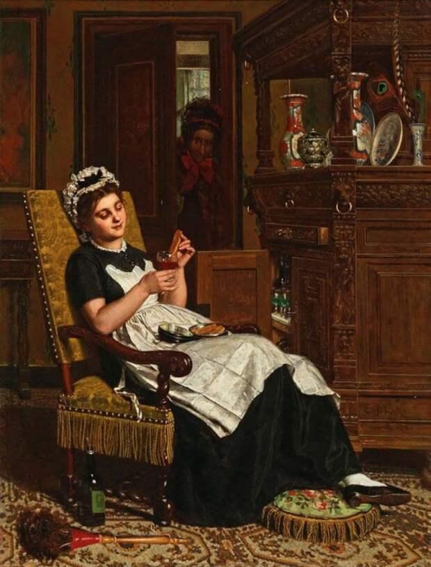 Эверт-Ян Бокс, «Приятно прислуживать для себя», 1882 год