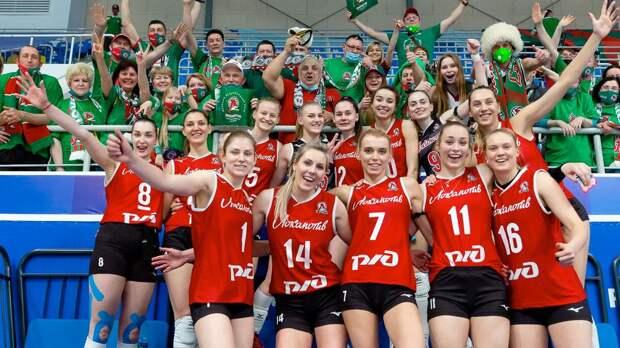 «Локомотив» впервые в истории выиграл Суперлигу, в финале отыгравшись у московского «Динамо» с 0:2 по сетам