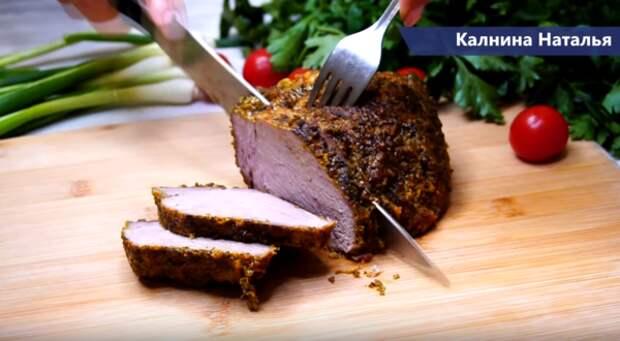 Мясо на сковороде мягкое как тушенка