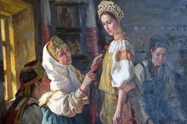Невестку выбирали тщательно, обращая внимание на все детали и обстоятельства.