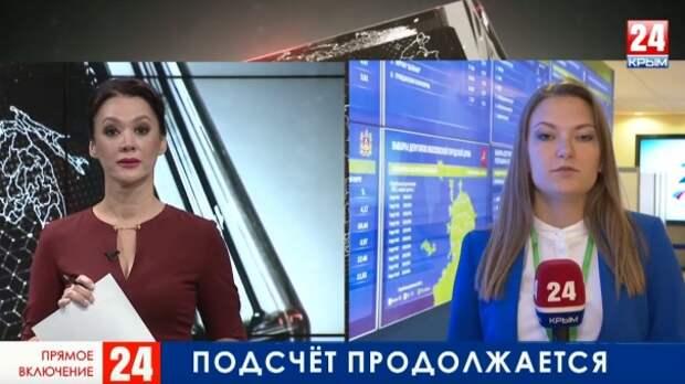 ЦИК России продолжает обработку протоколов. Прямое включение из Москвы