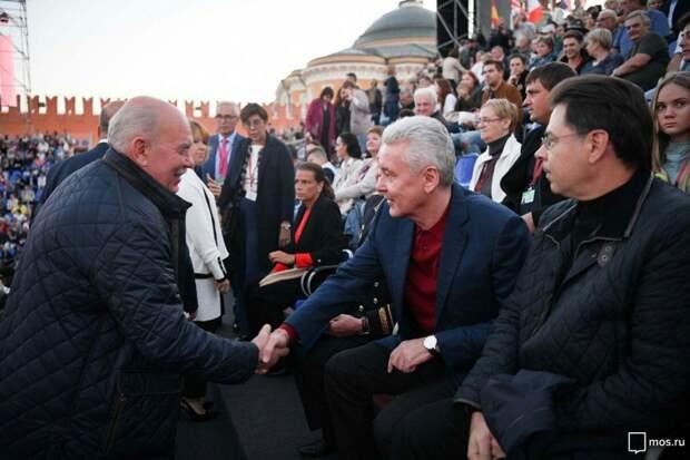 Собянин открыл фестиваль военных оркестров «Спасская башня». Фото: mos.ru