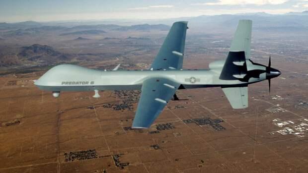 Разведывательно-ударный БПЛА армии США MQ-9