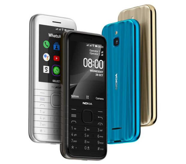 Анонсированы кнопочные звонилки Nokia 6300 4G и Nokia 8000 4G