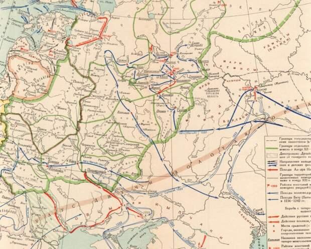 Поход хана Батыя на Русь: попытка реконструкции