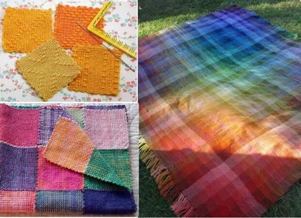 Ручное ткачество: бесконечное множество идей для применения