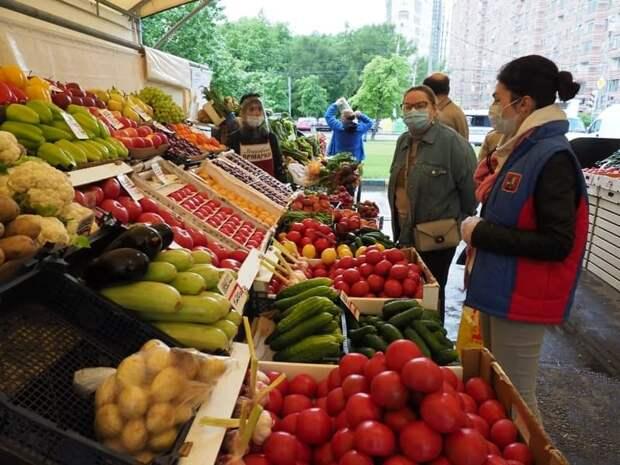 В Бескудниковском районе открылась круглогодичная межрегиональная ярмарка. Фото: Ольга Чумаченко