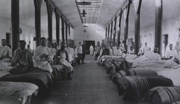 Полевой подвижный госпиталь No. 53. Палата