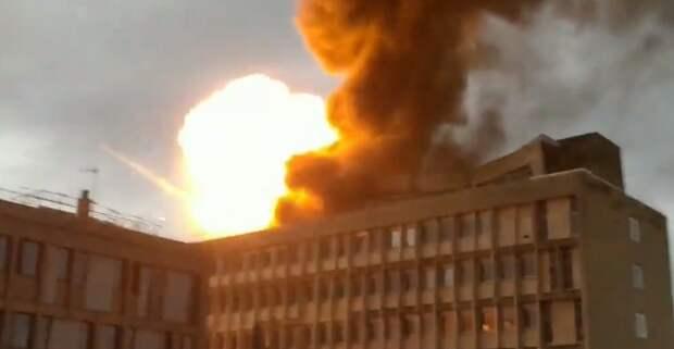 Опубликовано видео взрыва во французском университете