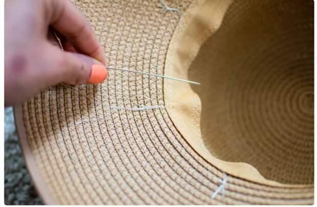 переделка шляпки своими руками
