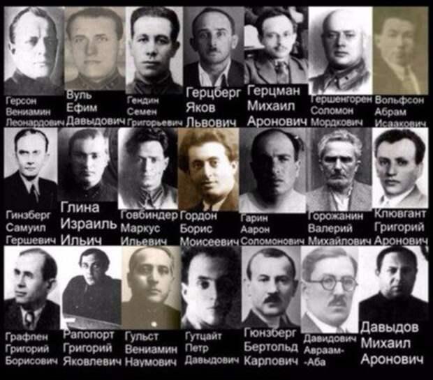гулаг, геноцид, еврейские комиссары