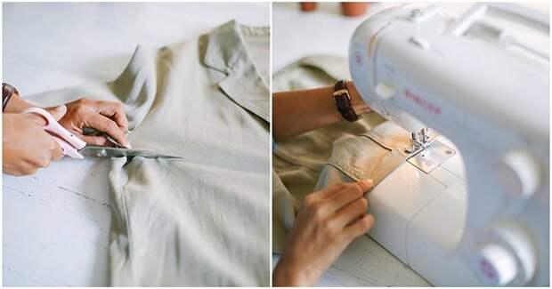 Ненужный пиджак без труда превращается в элегантный элемент гардероба