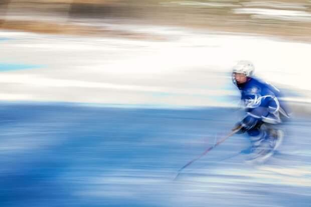 Хоккей На Льду, Молодежь, Зима, Холодный, Каток, Скейт