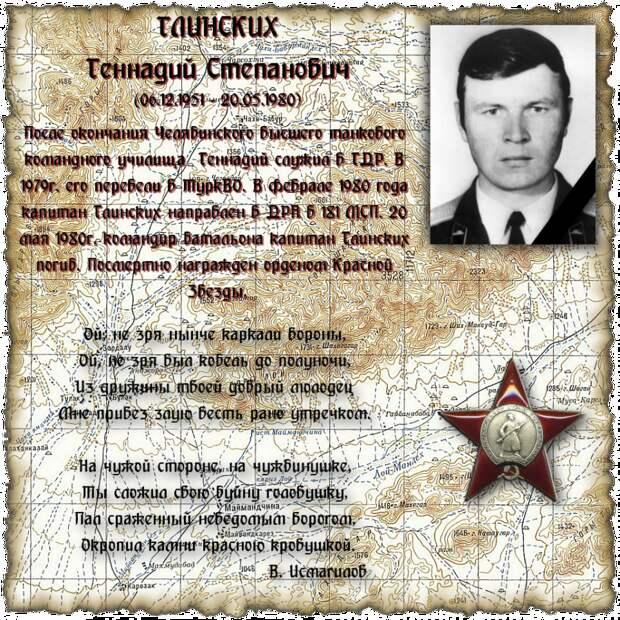 Капитан ГЛИНСКИХ Геннадий Степанович