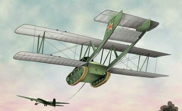 Антонов А-40 интересное, странное, танки, факты