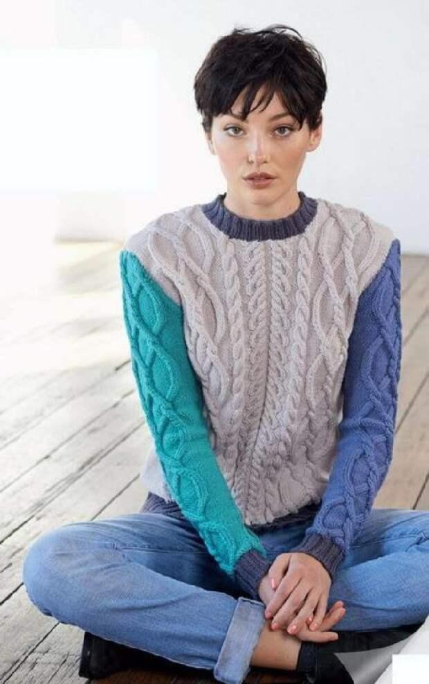 В копилку вязальщицам: идеи фасонов свитеров на осень/зиму