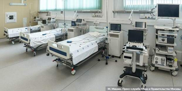 Ракова: Число госпитализаций с COVID-19 за неделю возросло на 30% Фото: М. Мишин mos.ru