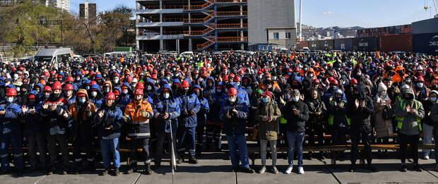 Майдан докеров в порту Владивостока дезактивирован после вмешательства «Росатома»