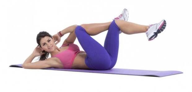3 упражнения для идеально плоского живота, красивой осанки и устранения болей в спине