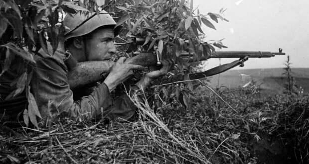 Как не надо снайперов «готовить» в тылу, и как на фронте их переучивать