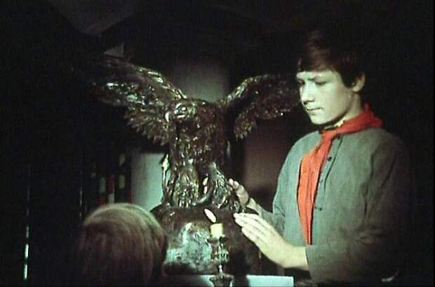 Кадр из фильма «Бронзовая птица»