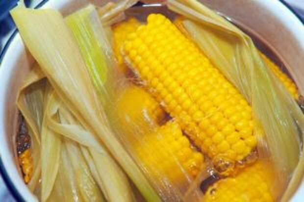 Как правильно варить початок кукурузы?