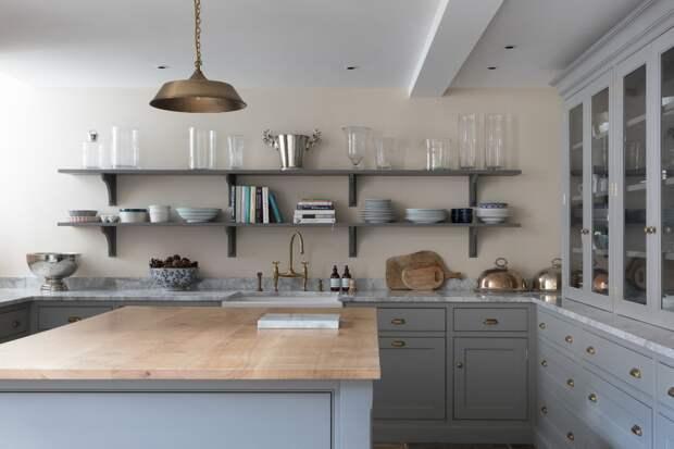 мраморная столешница серого цвета для кухни