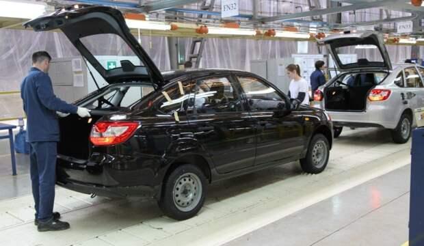 АвтоВАЗ приостановил сборку Lada Granta из-за дефицита комплектующих