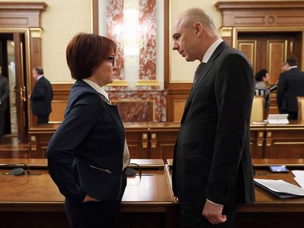 ЦБ и Минфин вернулись в российскую юрисдикцию и возобновили атаку на доллар