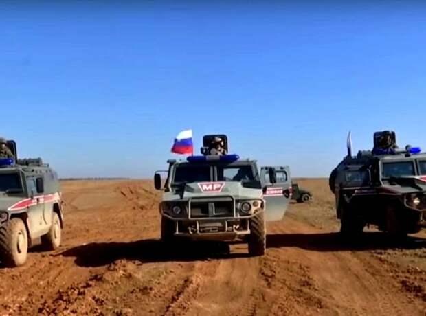 Сирия, 30-31 марта: инцидент между военными США и российским патрулем