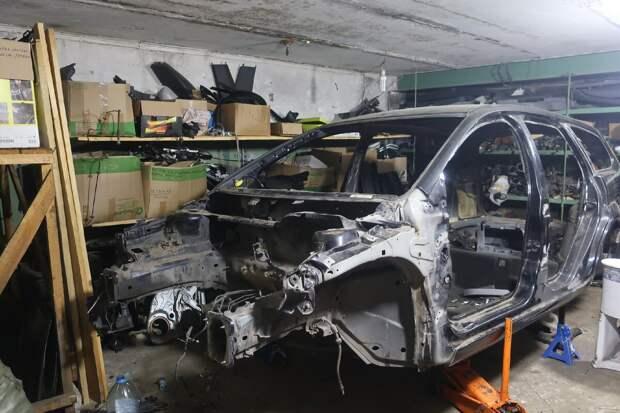 Ford Focus 2 после разборки