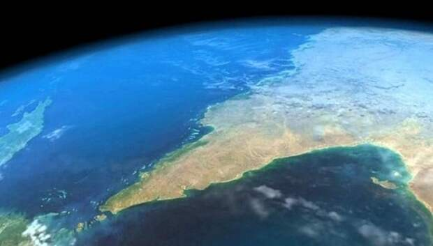 Необычная гипотеза: география планеты Земля придумана
