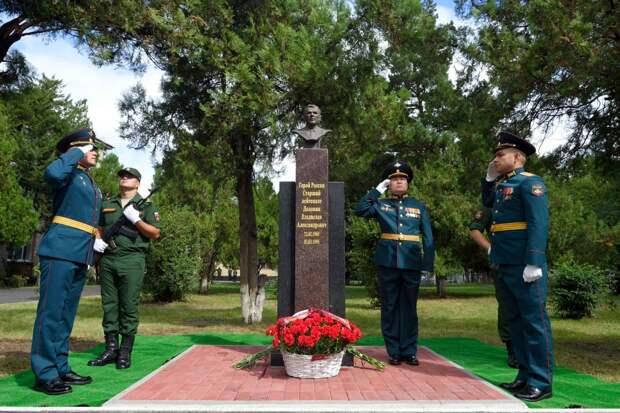 Код памяти – в столице Адыгеи открыли мемориал Герою России