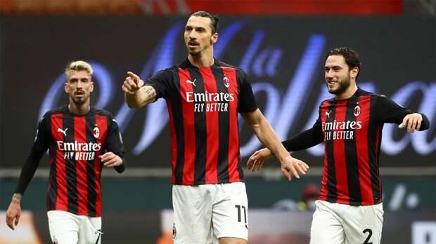 «Милан» разгромил «Кротоне» и вернулся на первое место в таблице Серии А
