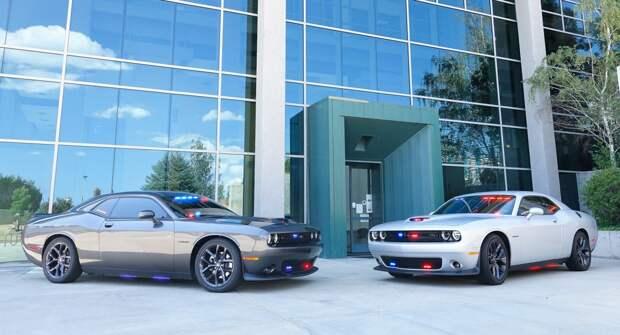 Dodge Challenger превратили в очень эффектный патрульный автомобиль