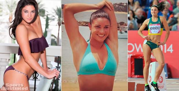 Смелые фото знаменитых спортсменок
