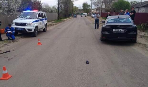 Водитель иномарки раздавил упавшего байкера вРостовской области