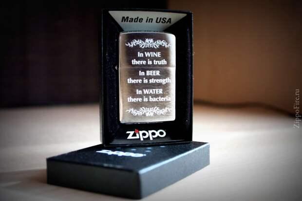 Производство зажигалок Zippo на видео