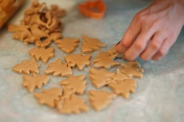 Имбирное печенье: