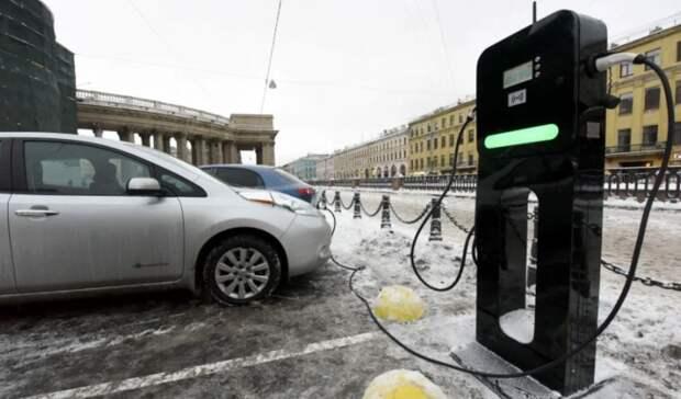 Сеть зарядных станций для электромобилей в России надо увеличить в 4 раза