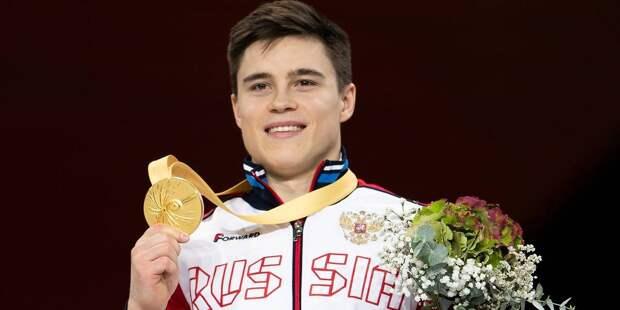 Гимнаст Нагорный выиграл медаль на Олимпиаде