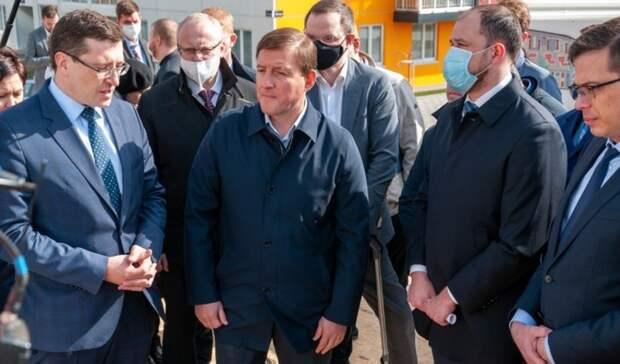 Турчак дал высокую оценку ЖК «КМ Анкудиновский парк» в Нижнем Новгороде