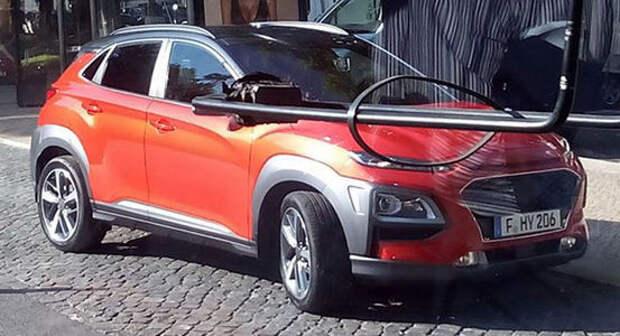 Так вот ты какой: кроссовер Hyundai Kona заснят без камуфляжа