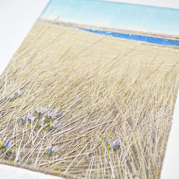 Monika Kinner-Whalenи: рукотворные картины