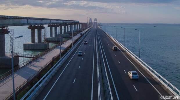 На Украине радость: в Сеть вбросили поддельный ролик о катастрофах на Крымском мосту (видео)