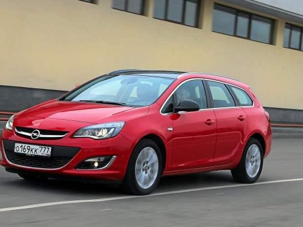 Тест Opel Astra ST: «черная шапочка»