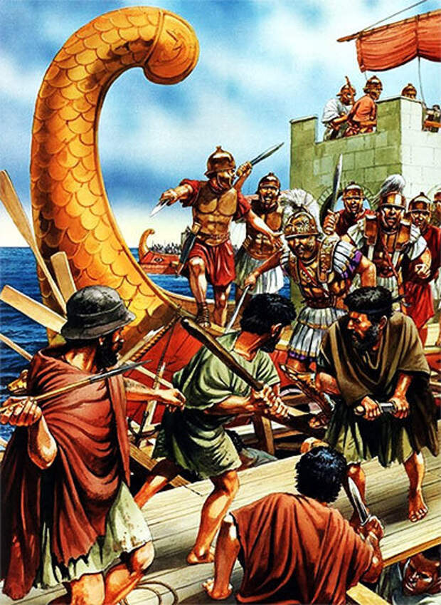 П. Деннис. Войско Помпея Великого против киликийцев