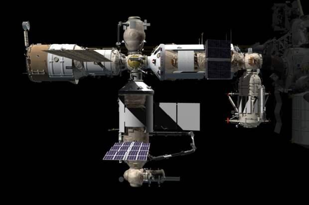 Модуль «Наука» совершил финальную коррекцию орбиты