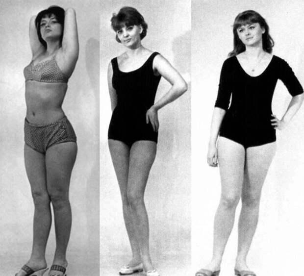 Варлей, Селезнёва, Светличная 3 красавицы советского кино в купальниках