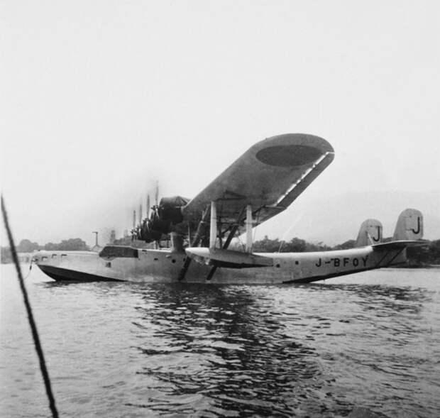 Тяжёлая летающая лодка H6K во время довоенного дружественного визита на Тимор, 1941 год (самолёт пока ещё с гражданской регистрацией). awm.gov.au - «Неистовые орлы» в стране кенгуру | Warspot.ru